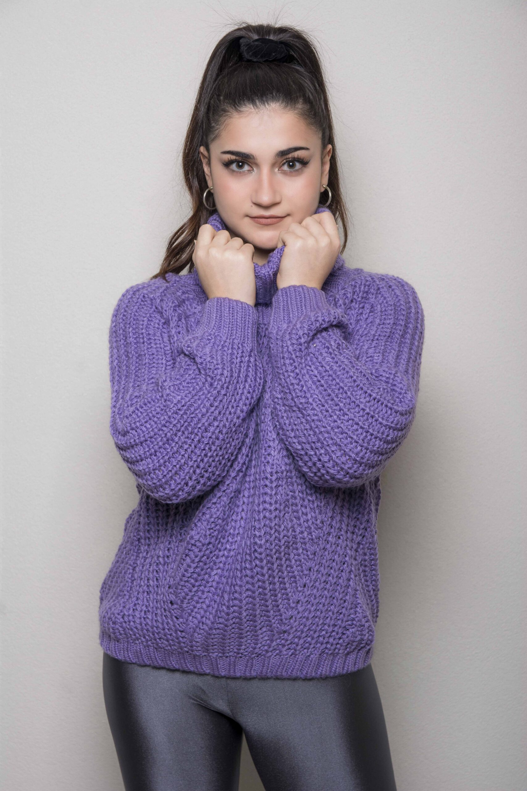 Knitted BLUE ZIVAGO