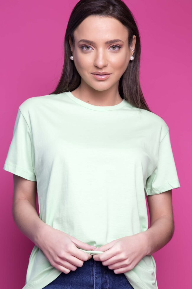 T-SHIRT BASIC (MINT)