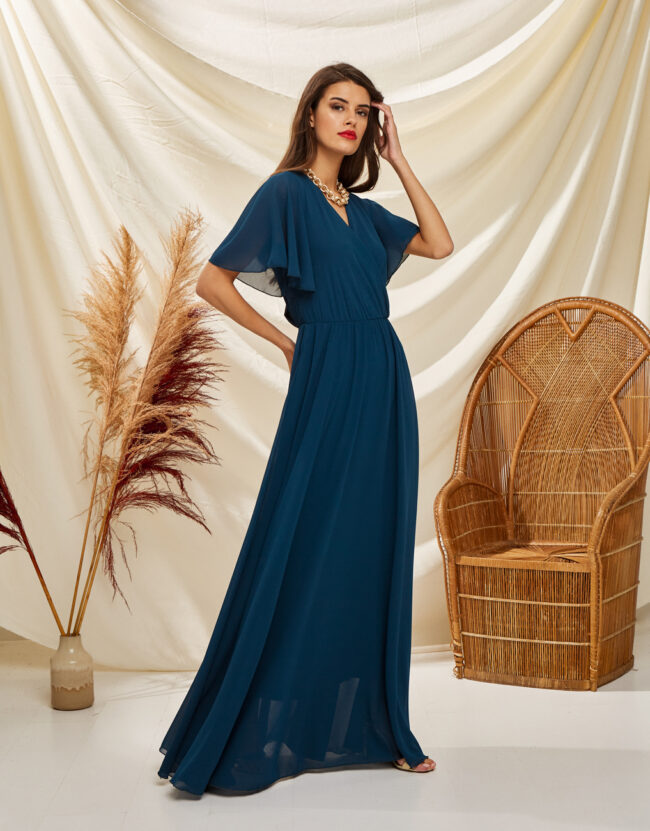 PACKAGE CROPING DRESS (blue)